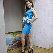 """Одежда ручной работы. Ярмарка Мастеров - ручная работа Костюм """"Кокетка в голубом"""". Handmade."""