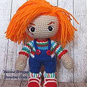 Куклы и игрушки ручной работы. Ярмарка Мастеров - ручная работа Чаки. Кукла-страшилка. Handmade.