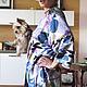 Фото пижамного костюма из натурального  именного атласа Missoni.