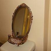 Винтаж handmade. Livemaster - original item Mirror wall vintage MERCHANT. Handmade.