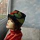 """Шляпы ручной работы. Ярмарка Мастеров - ручная работа. Купить шляпка """"Витражная"""". Handmade. Валяные шляпки, шляпы, витражи"""