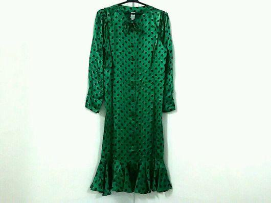 Одежда. Ярмарка Мастеров - ручная работа. Купить платье ungaro шелк оригинал винтаж. Handmade. Платье ungaro, платье шелковое