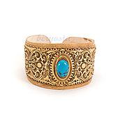 Украшения handmade. Livemaster - original item Bracelet birch bark stone. Turquoise, malachite, aventurine, etc.. Handmade.