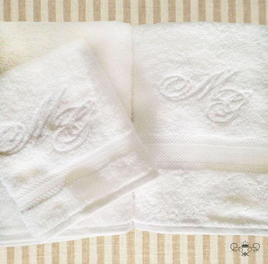 Текстиль, ковры ручной работы. Ярмарка Мастеров - ручная работа. Купить Вышивка на полотенцах Монограмма рисунок. Handmade. Мешок