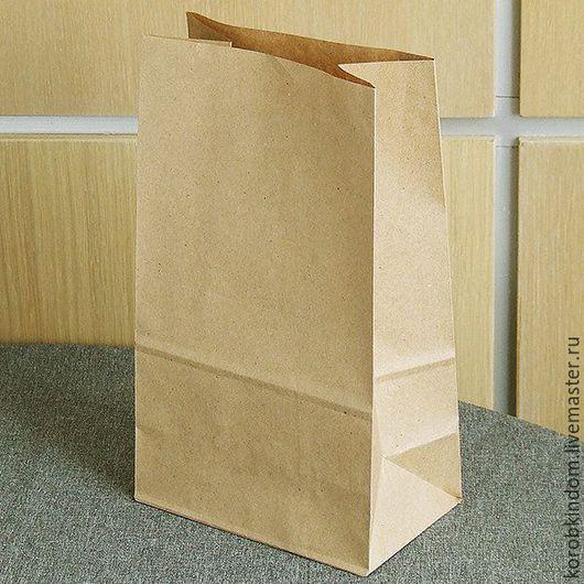 Упаковка ручной работы. Ярмарка Мастеров - ручная работа. Купить Пакет 15х25х9 крафт коричневый без ручек. Handmade.