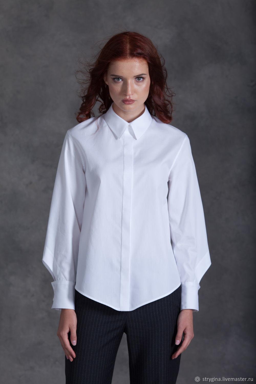 -15% при покупке двух любых моделей Блузка ORIGAMI wight, Блузки, Алматы, Фото №1