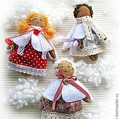 Куклы и игрушки ручной работы. Ярмарка Мастеров - ручная работа Ванильные ангелочки. Handmade.
