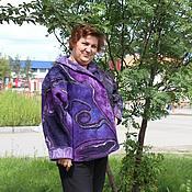 """Одежда ручной работы. Ярмарка Мастеров - ручная работа Куртка валяная """"Цефеида"""". Handmade."""
