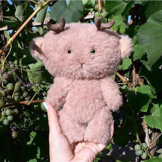"""Мишки Тедди ручной работы. Ярмарка Мастеров - ручная работа. Купить Оленёнок Тедди """"Хранитель леса"""". Handmade. Тедди, олененок"""