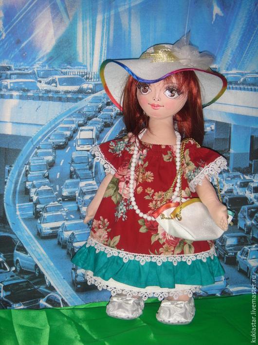 Коллекционные куклы ручной работы. Ярмарка Мастеров - ручная работа. Купить Игровая, коллекционная шарнирная кукла. Handmade. Разноцветный
