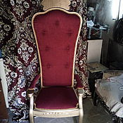 Для дома и интерьера ручной работы. Ярмарка Мастеров - ручная работа кресло трон. Handmade.