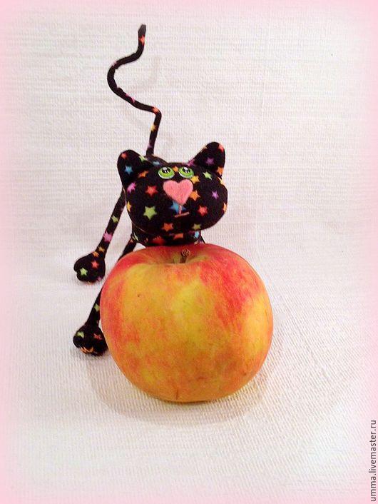 Игрушки животные, ручной работы. Ярмарка Мастеров - ручная работа. Купить Маленький  котёнок ( 11,5 см). Handmade.