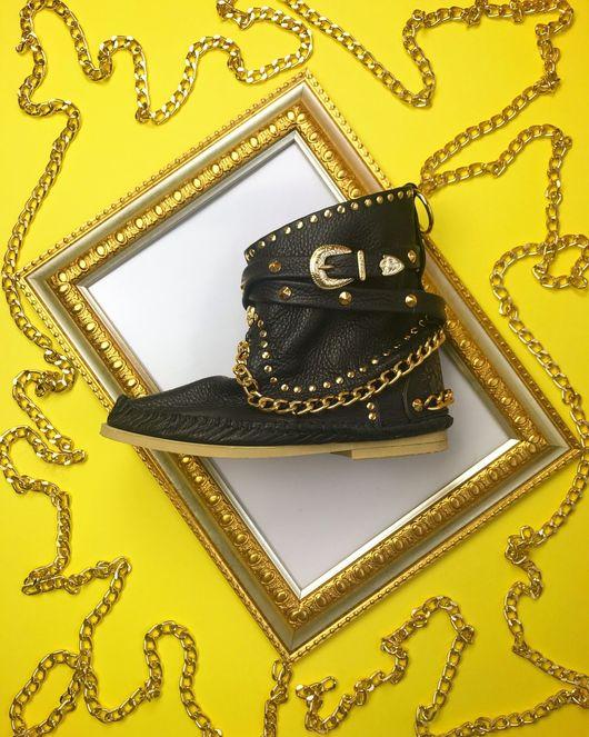 Обувь ручной работы. Ярмарка Мастеров - ручная работа. Купить ИТАЛЬЯНСКИЕ САПОЖКИ ручной работы VOLARE. Handmade. Сапоги женские