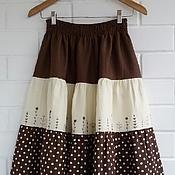 Одежда handmade. Livemaster - original item Skirt tiered long
