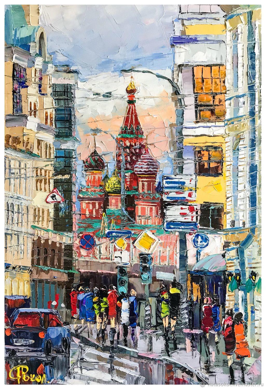 Москва. Собор Василия Блаженного. Natali Sokol