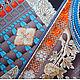 """Шали, палантины ручной работы. Платок из натурального шёлка """"Доспехи Самурая"""" Hermes. Lady AKT. Интернет-магазин Ярмарка Мастеров."""