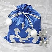 Одежда ручной работы. Ярмарка Мастеров - ручная работа Новогодний мешок,  мешок Деда Мороза. Handmade.