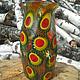 """Вазы ручной работы. Ярмарка Мастеров - ручная работа. Купить ваза """"Осень"""". Handmade. Красивая ваза, flamework, стекло дутое"""