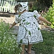 """Одежда для девочек, ручной работы. Платье """"Дача"""". ' Нежный возраст'. Интернет-магазин Ярмарка Мастеров. Летнее, пышное платье"""