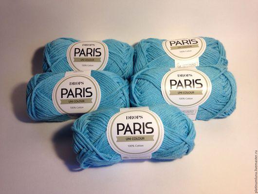 Вязание ручной работы. Ярмарка Мастеров - ручная работа. Купить Drops Paris. Handmade. Пряжа, спицы, рукоделие, Вязание крючком