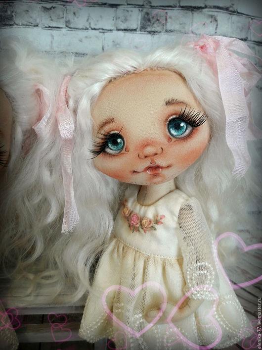 Куклы тыквоголовки ручной работы. Ярмарка Мастеров - ручная работа. Купить Ванильная принцесса.. Handmade. Желтый, кукла ручной работы