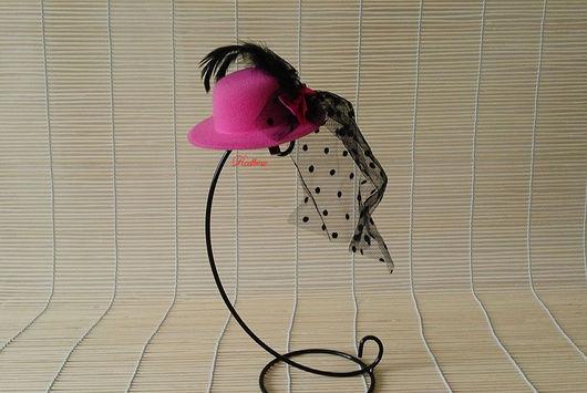 Другие виды рукоделия ручной работы. Ярмарка Мастеров - ручная работа. Купить Шляпка маленькая ДЭ16. Handmade. Шляпка