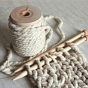 Пряжа ручной работы. Ярмарка Мастеров - ручная работа Пряжа  для вязания ГУЛЛИВЕР  толстая пряжа ручного прядения. Handmade.