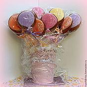 Сувениры и подарки ручной работы. Ярмарка Мастеров - ручная работа Пряничные воздушные шары, подарочный набор. Handmade.