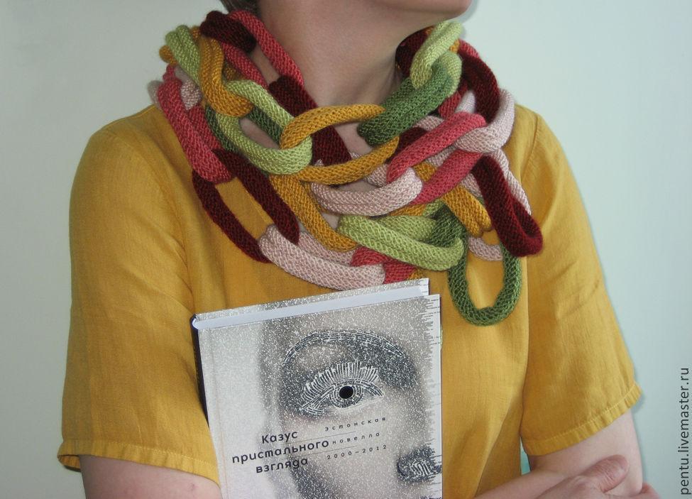 Бохо-шарф Chain, Шарфы, Москва, Фото №1
