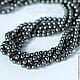 Жемчуг Сваровски 4мм Dark Grey, хрустальный жемчуг Сваровски 5810. Жемчуг сваровски, жемчуг swarovski, swarovski pearl, жемчуг swarovski 4 мм, жемчуг swarovski купить в crystalbeads.