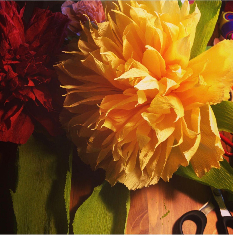 Бумажные цветы для декора, Цветы, Москва,  Фото №1