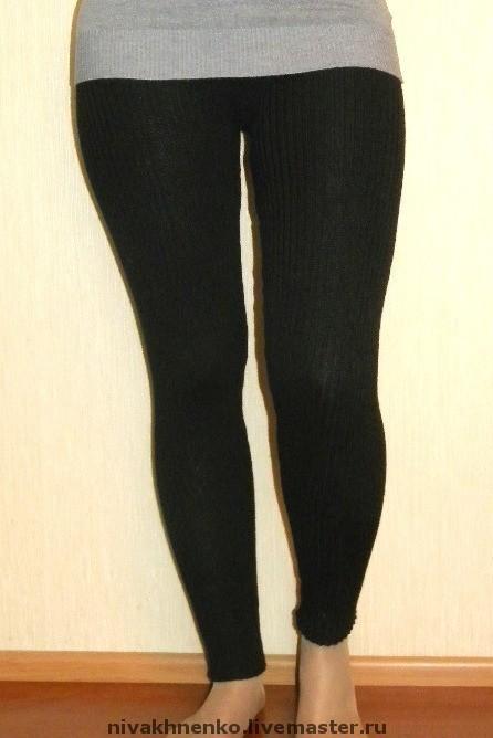 Trousers & Shorts handmade. Livemaster - handmade. Buy Knitted leggings 'elastic'.Leggings, pants, for women, tight leggings