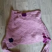 Одежда ручной работы. Ярмарка Мастеров - ручная работа свитер-шарф. Handmade.