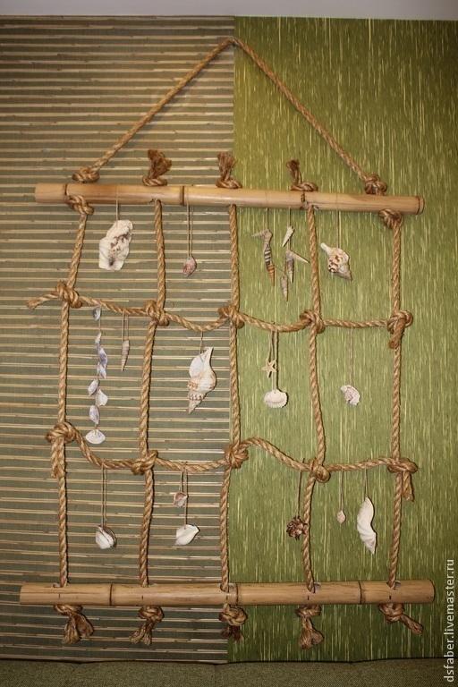 """Символизм ручной работы. Ярмарка Мастеров - ручная работа. Купить Панно """"Морские ракушки"""". Handmade. Панно, картина для интерьера, ракушка"""