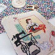 Сумки и аксессуары handmade. Livemaster - original item Organizer for needlework cross stitch. Handmade.