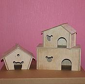 Для домашних животных, ручной работы. Ярмарка Мастеров - ручная работа Домик для грызуна. Handmade.