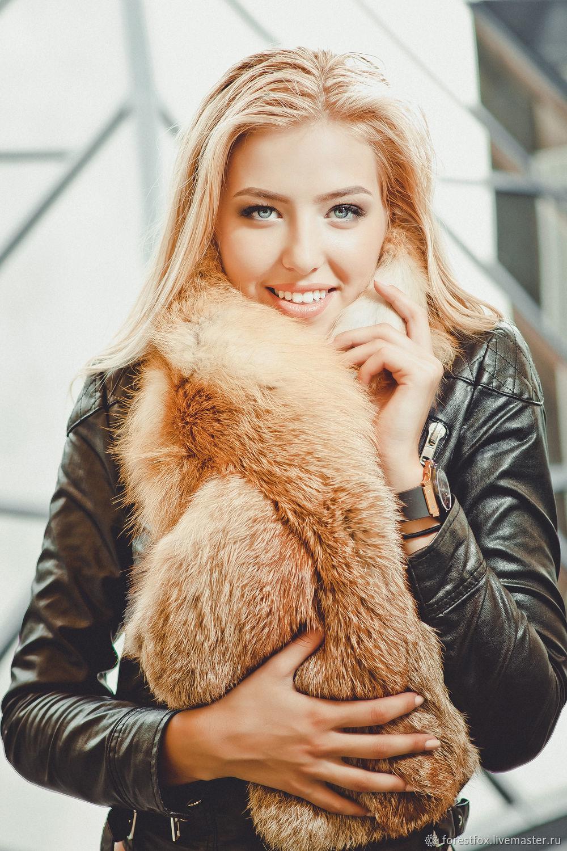Fox fur collar natural, Collars, Moscow,  Фото №1