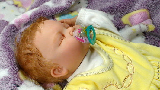 Куклы-младенцы и reborn ручной работы. Ярмарка Мастеров - ручная работа. Купить Кукла реборн Симочка. Handmade. Бежевый