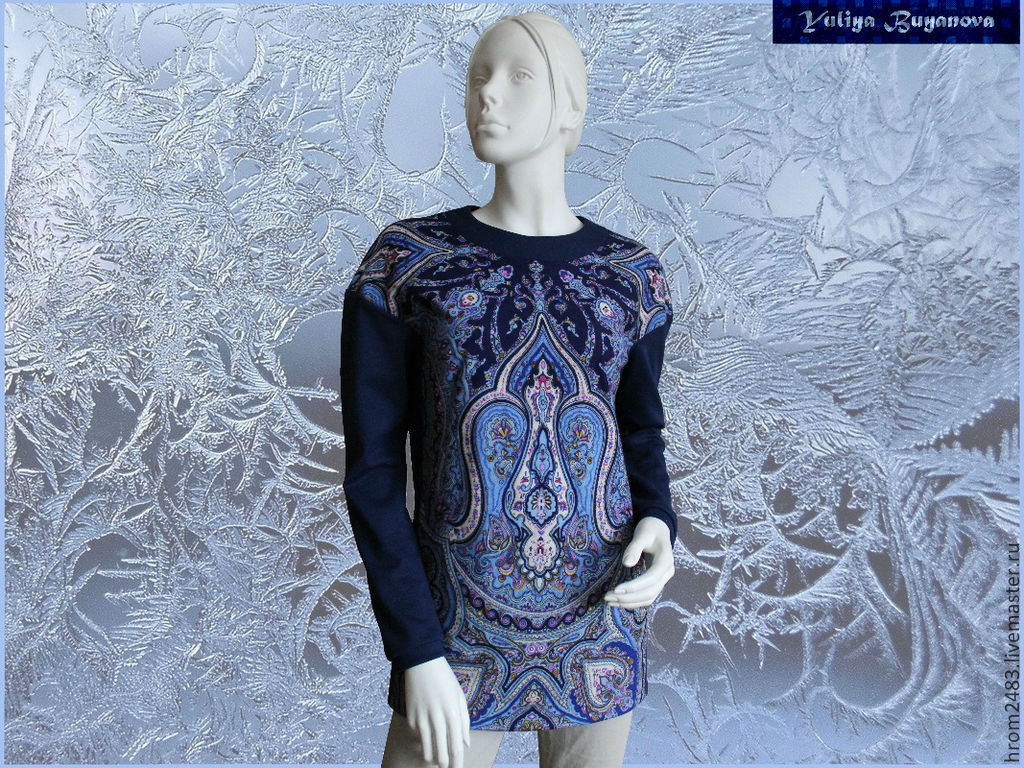 Warm jacket 'Zimushka-winter' Jersey bonus, Pullover Sweaters, Moscow,  Фото №1