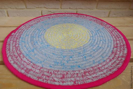 Текстиль, ковры ручной работы. Ярмарка Мастеров - ручная работа. Купить Коврик на пол. Handmade. Коврик, коврик на пол