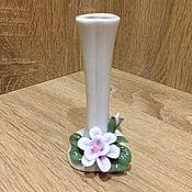 Винтажные предметы интерьера ручной работы. Ярмарка Мастеров - ручная работа Милая вазочка, куплена в Италии. Handmade.