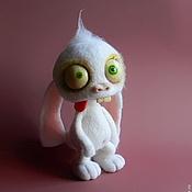 Куклы и игрушки ручной работы. Ярмарка Мастеров - ручная работа заяц-ТупнячОк. Handmade.