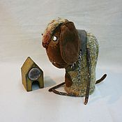 Куклы и игрушки ручной работы. Ярмарка Мастеров - ручная работа Сторожевой пёс Барбос. Handmade.