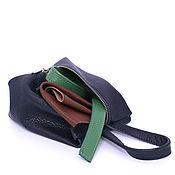 Сумки и аксессуары handmade. Livemaster - original item Blue Toiletry Bag Travel Wallet A Travel Organizer Case Pencil Case. Handmade.