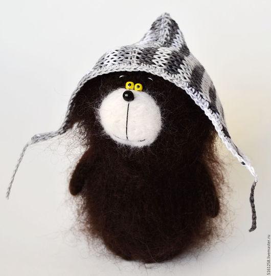 Игрушки животные, ручной работы. Ярмарка Мастеров - ручная работа. Купить Вязаный медвежонок игрушка медведь плюшевый мишка амигуруми. Handmade.