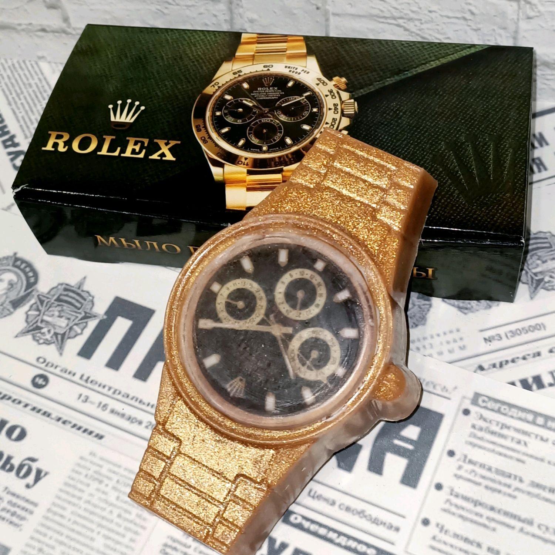 Сувенирное мыло Часы для мужчин, Мыло, Москва,  Фото №1