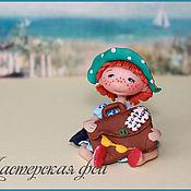 """Куклы и игрушки ручной работы. Ярмарка Мастеров - ручная работа Феечка-статуэтка """"Хочу на море"""". Handmade."""