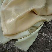 Аксессуары ручной работы. Ярмарка Мастеров - ручная работа Шелковый платок Сладкая дыня, платок шелковый эко окрашивание. Handmade.