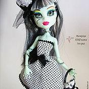Куклы и игрушки ручной работы. Ярмарка Мастеров - ручная работа Платья черно-белых оттенков Monster High (Монстр Хай или Монстер Хай). Handmade.