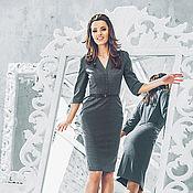 """Одежда ручной работы. Ярмарка Мастеров - ручная работа Платье  """"Леди """" из шерсти. Handmade."""